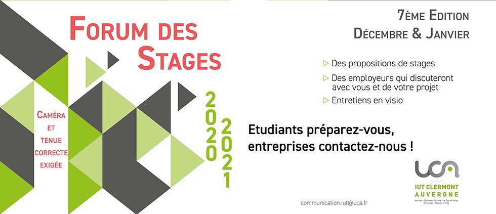 forum des stages 2020-2021